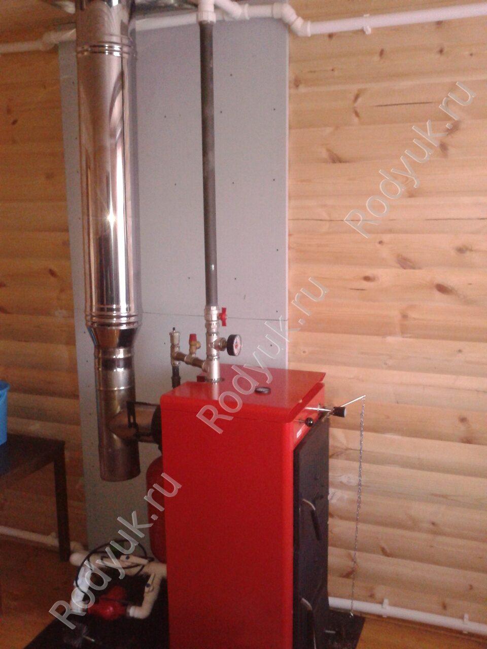 Отопление частного дома на твердом топливе: котлы и печи 82